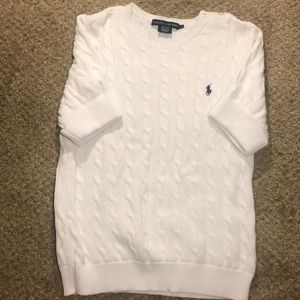 Ralph Lauren short sweater top
